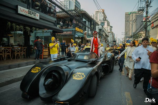 These Groom Entry Ideas Are The Best For Your Baraat! | indian groom in a batmobile | batmobile at weddings | wedding ideas | groom entry ideas | Function Mania
