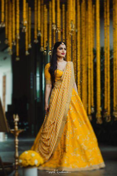 6 Amazing Haldi Looks We Spotted On Real Brides!