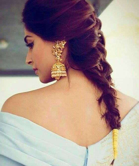 35 Bridal Braids On Indian Brides That We Are Loving Currently Wedmegood