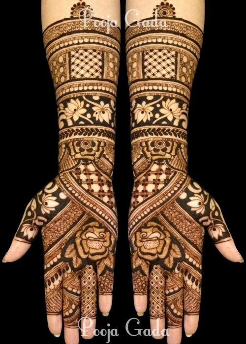 30+ Arabic Bridal Mehndi Designs For The ladies Who Want Something