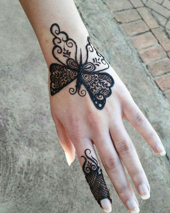 new latest arabic mehndi design
