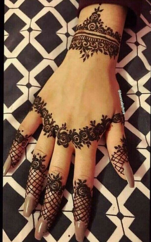 Arabic Mehndi Designs 30 Arabic Bridal Mehndi Designs