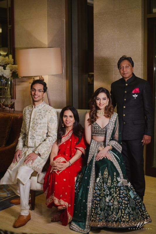 Anita Dongre's Son's Intimate Wedding In The Hills Was #OutfitGoals
