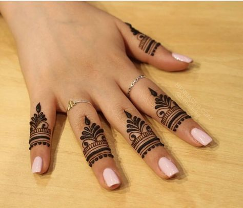 15 Unique Finger Mehndi Designs That You Ll Absolutely Love