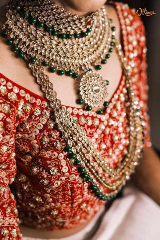 Where To Rent Or Buy Artificial Bridal Jewellery In Delhi Wedmegood