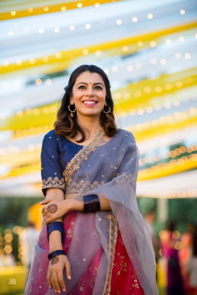 An Intimate Delhi Wedding With A Bride In An Enchanting