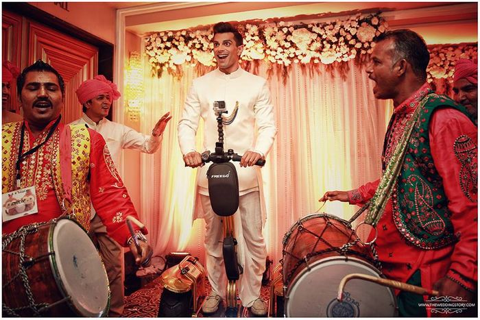 12 Amazing Groom Entry Ideas For Modern Indian Weddings