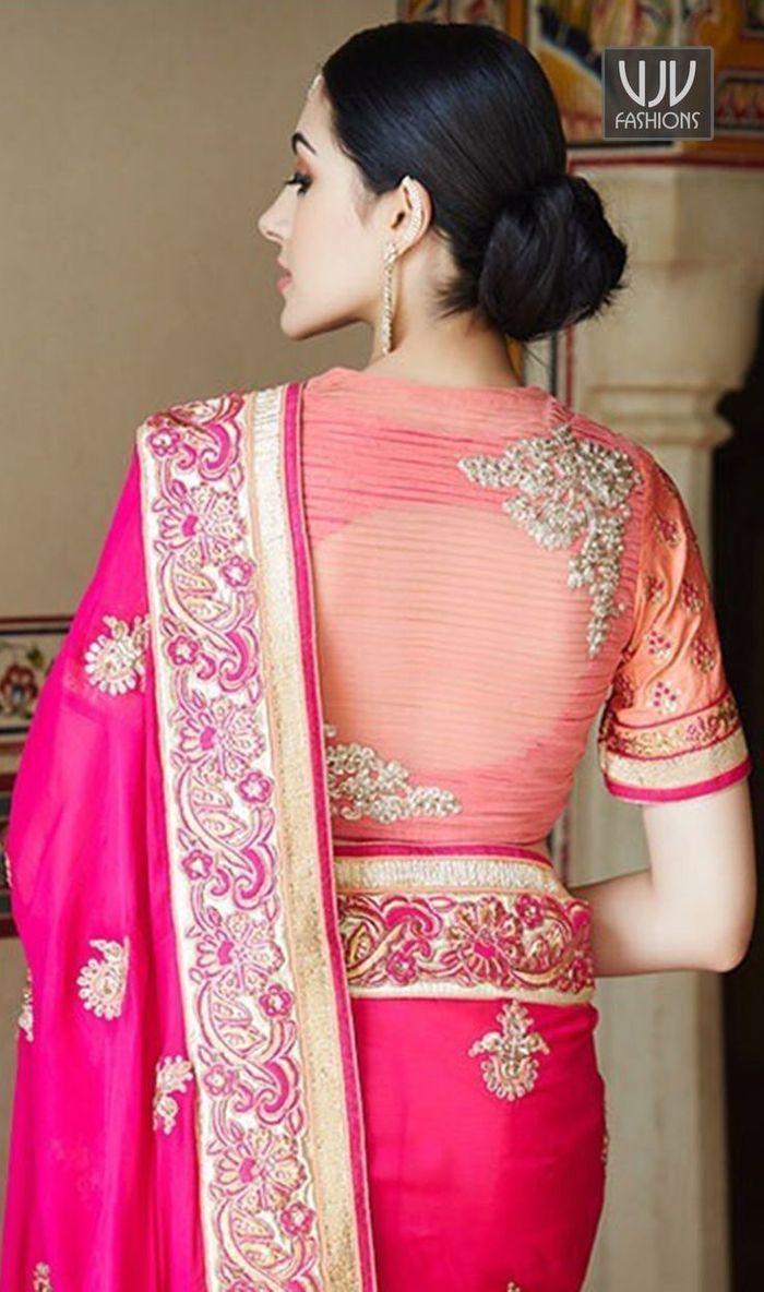 Latest Unique South Indian Saree Blouse Designs Wedmegood
