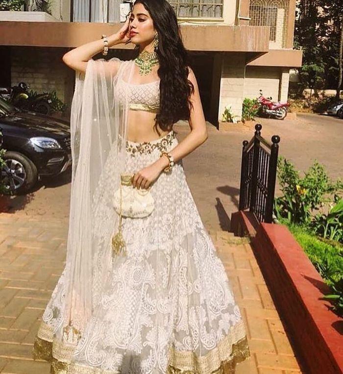 All The Lehengas Jhanvi Kapoor Ever Wore #BridesmaidGoals | WedMeGood