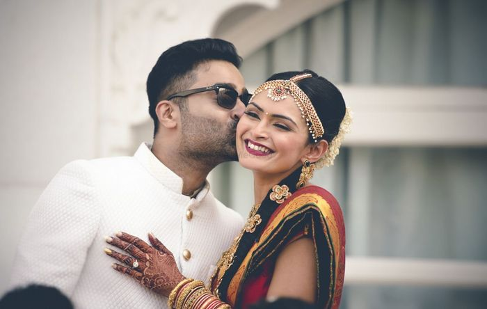 South Indian Couples Who Coordinated Their Outfits On Their Wedding Wedmegood