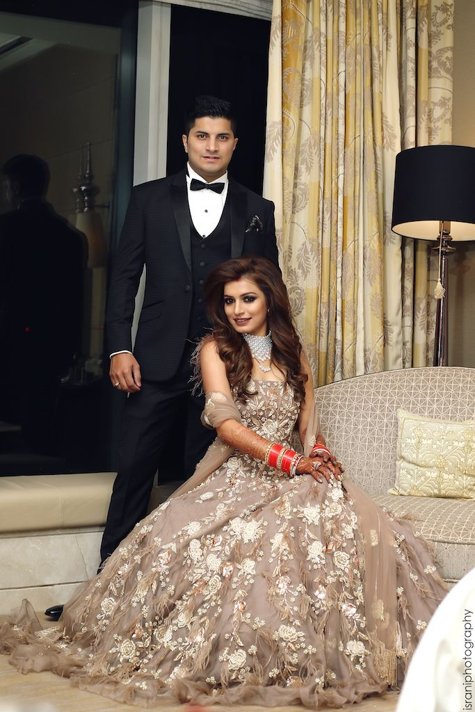 This Bride Rocked Some Amazing Outfits From Lesser Known Designers Wedmegood