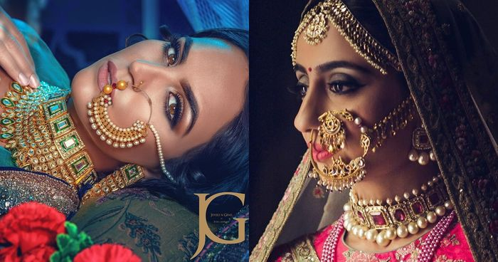 20 Fresh New Designs Of Naths We Spotted On Real Brides