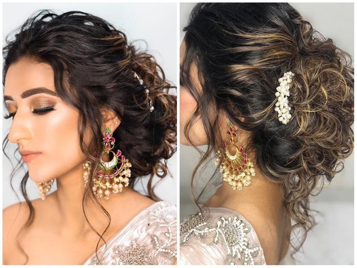 Wedding Reception Hairstyles Trending In Indian Weddings Wedmegood