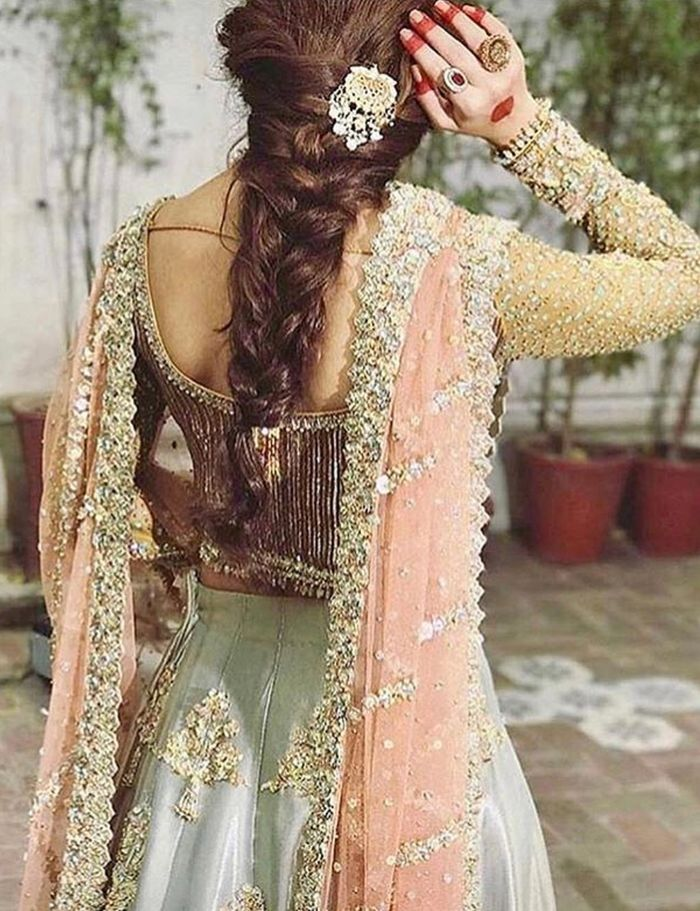 Stunning Hairstyle Inspirations From Pakistani Brides Wedmegood