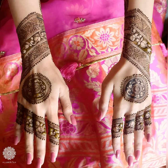 back mehndi designs for hands