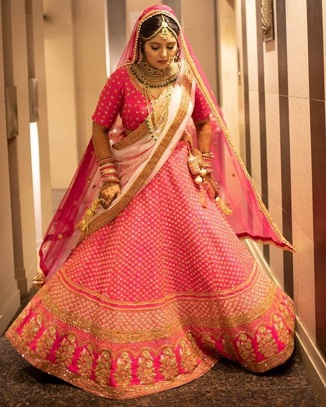 10 Best Places Where You Find Bridal Lehenga On Rent In Delhi Wedmegood