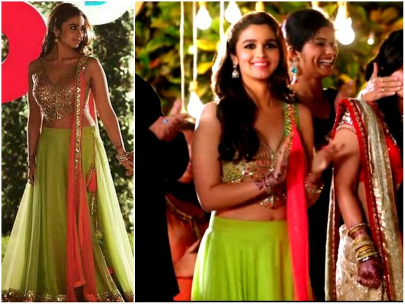 An Extremely Sexy Lehenga With A Vibrant And Might We Add Super Mirror Work Choli This Is Surely Going To Make