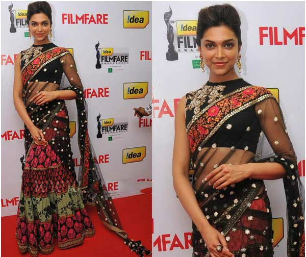 8e071ebcd94432 10 Blouse Ideas from Deepika Padukone that You Can Give to Your ...