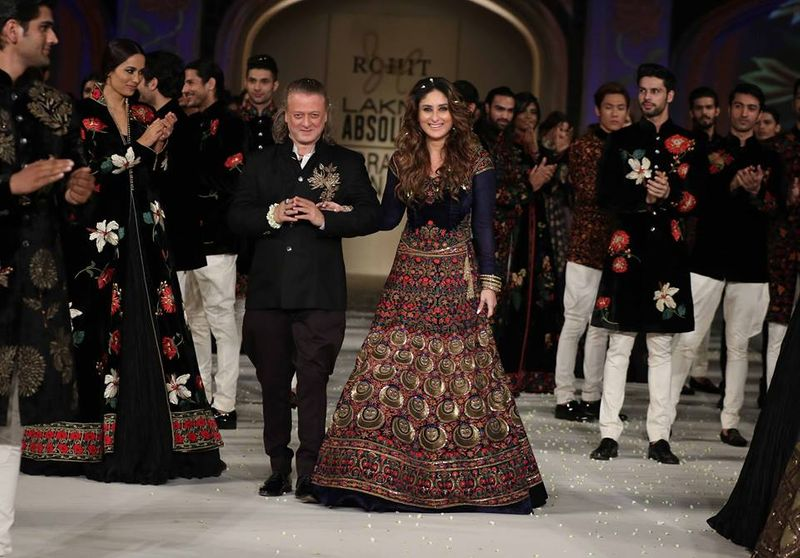 Lakme Fashion Week SS16 Finale  Rohit Bal s Exquisite Details ... bf4a7b55a6