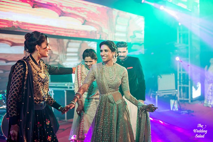 17 Manoshi _ Atit, Mumbai Wedding at Renaissance, The Wedding Salad_
