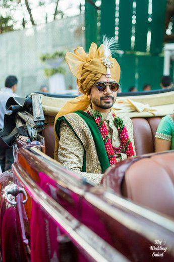 38 Manoshi _ Atit, Mumbai Wedding at Renaissance, The Wedding Salad_