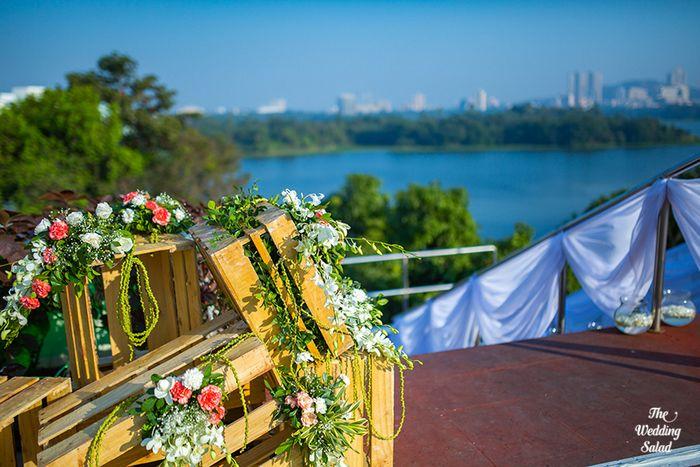 57 Manoshi _ Atit, Mumbai Wedding at Renaissance, The Wedding Salad_