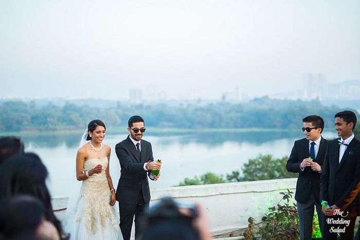 65 Manoshi _ Atit, Mumbai Wedding at Renaissance, The Wedding Salad_