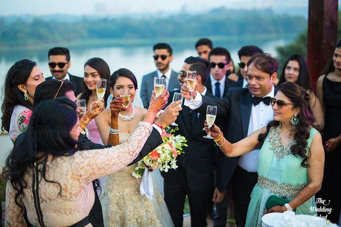 66 Manoshi _ Atit, Mumbai Wedding at Renaissance, The Wedding Salad_