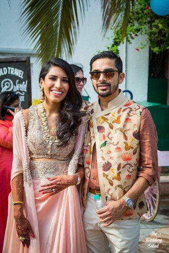 69 Manoshi _ Atit, Mumbai Wedding at Renaissance, The Wedding Salad_