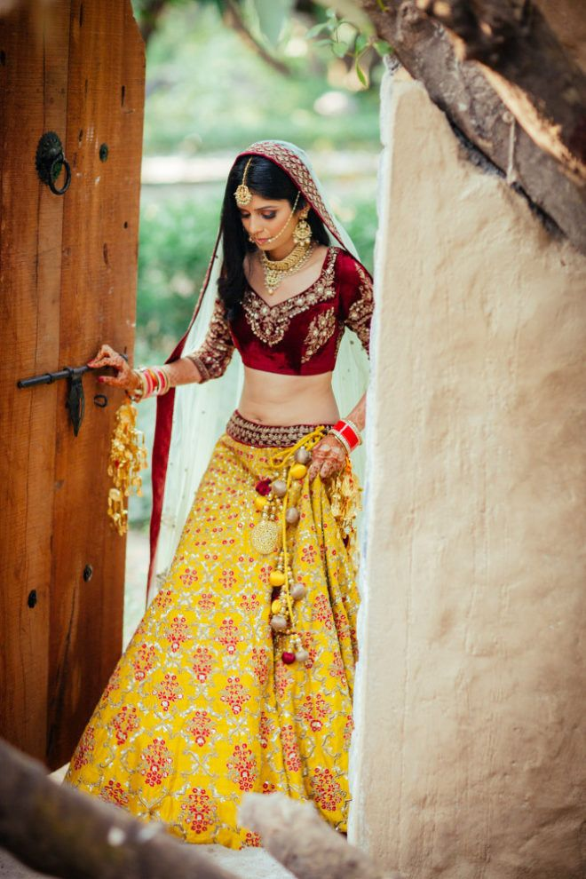 Lehenga Colour Combinations That Are Killing It In 2017 Wedmegood