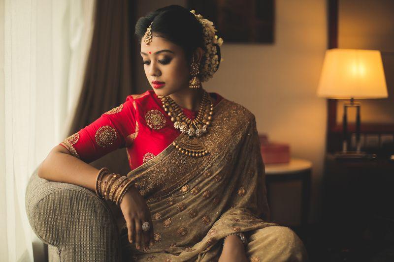 30 Unique Blouse Designs For South Indian Brides Wedmegood