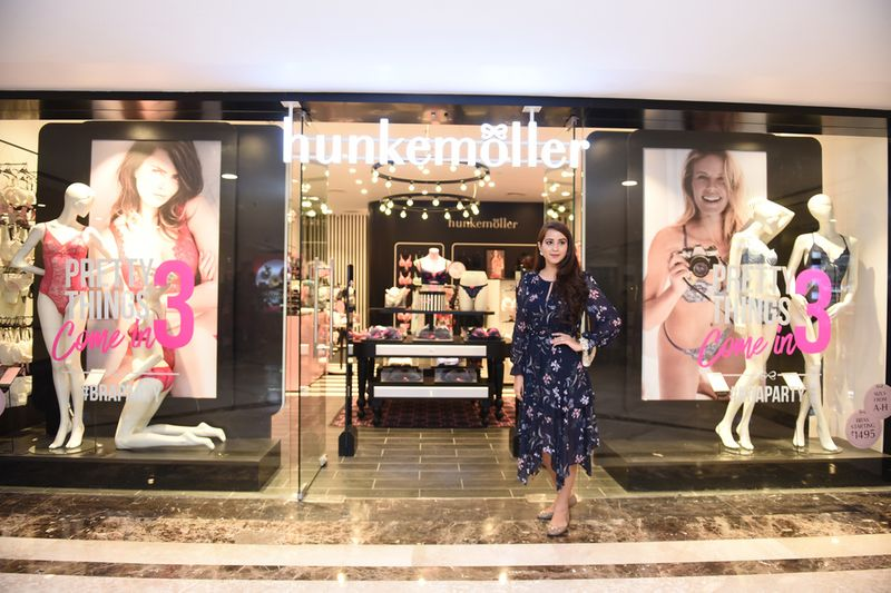 0398e81440abe Bride-to-be Monica got a chance to visit the Hunkemoller store in Delhi to  pick out her lingerie essentials. Here s what she loved.