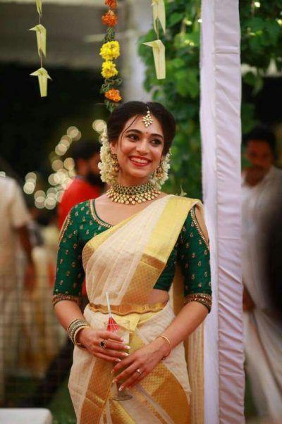 97b23a6363e546 30+ Unique Blouse Designs For South Indian Brides!