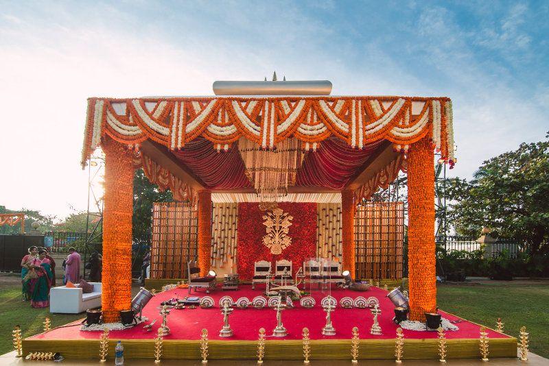Best South Indian Mandaps For An Outdoor Wedding Wedmegood