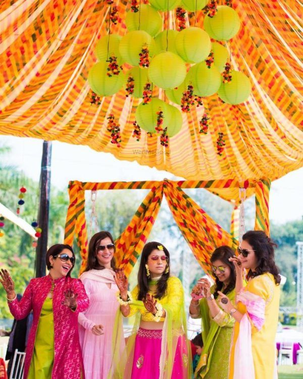 Budgetbrides Amazing New Haldi Decor Ideas Within 25k Wedmegood