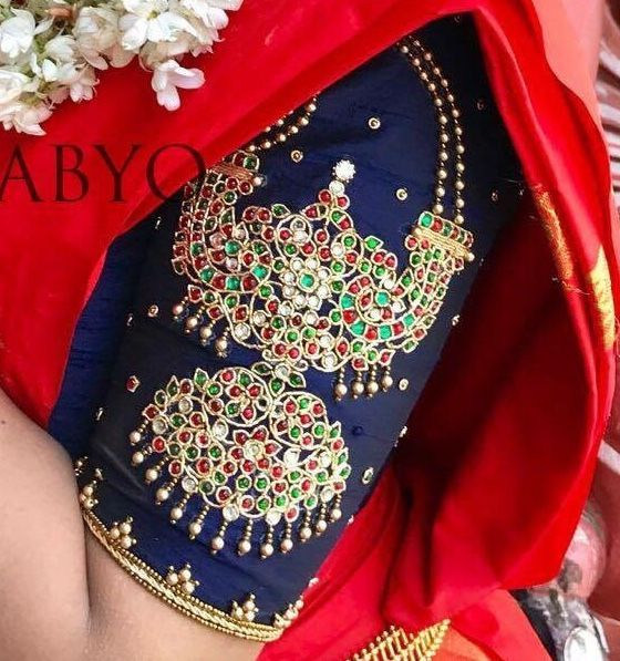 The Latest Most Unique South Indian Blouse Designs To Try In 2018
