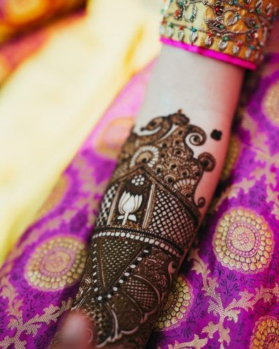 Trending Stunning Bridal Mehendi Designs We Spotted In 2018 Wedmegood
