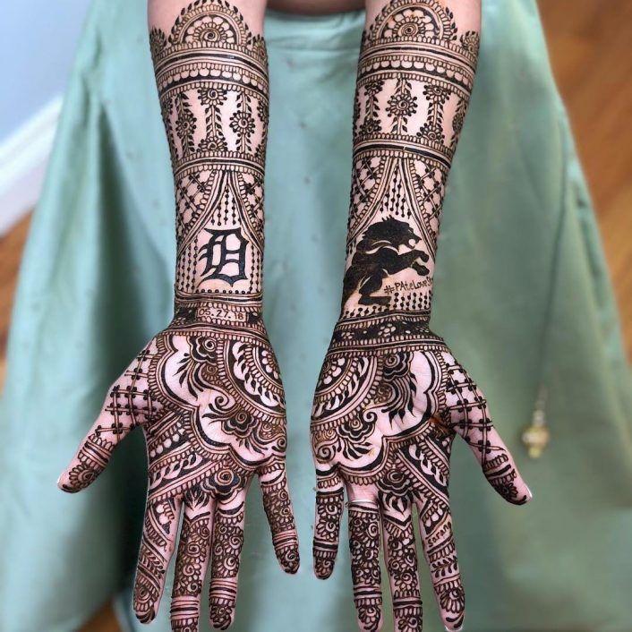 Trending Stunning Bridal Mehendi Designs We Spotted In 2018 Wedmegood