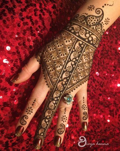 Bookmark These 15 Best Back Of The Hand Bridal Mehendi Designs For