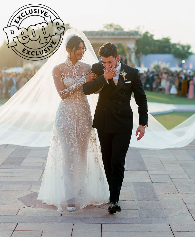 """a6a2fb85 Priyanka Chopra talked to People Magazine in an exclusive interview about  how Ralph Lauren came to design her wedding dress, """"For the Western wedding,  we ..."""