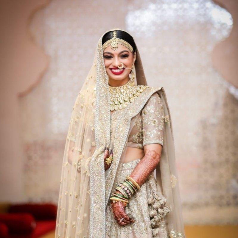 812b0d9c8d Is Metallic A Bridal Color  15 Brides That Prove Just Why You Should ...