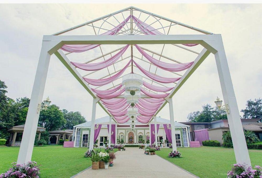 Photo of pretty lavender modern entrance decor idea