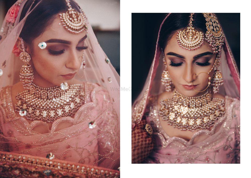 Photo of A gorgeous bridal portrait.