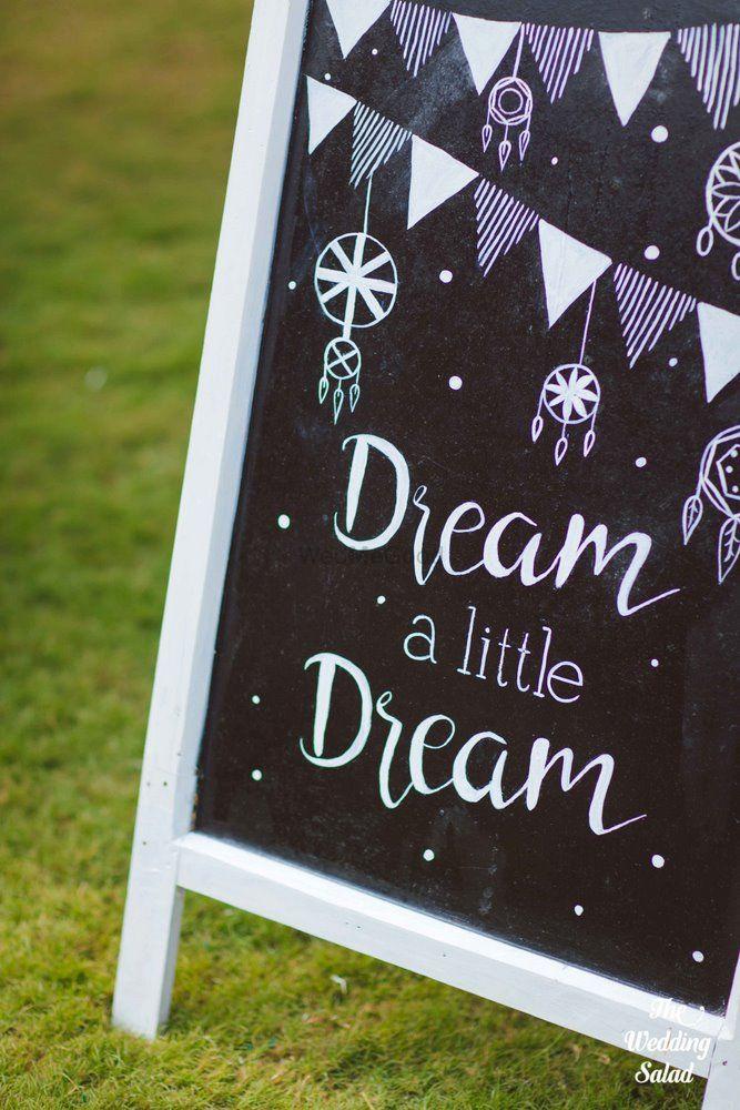 Photo of Wedding chalkboard decor