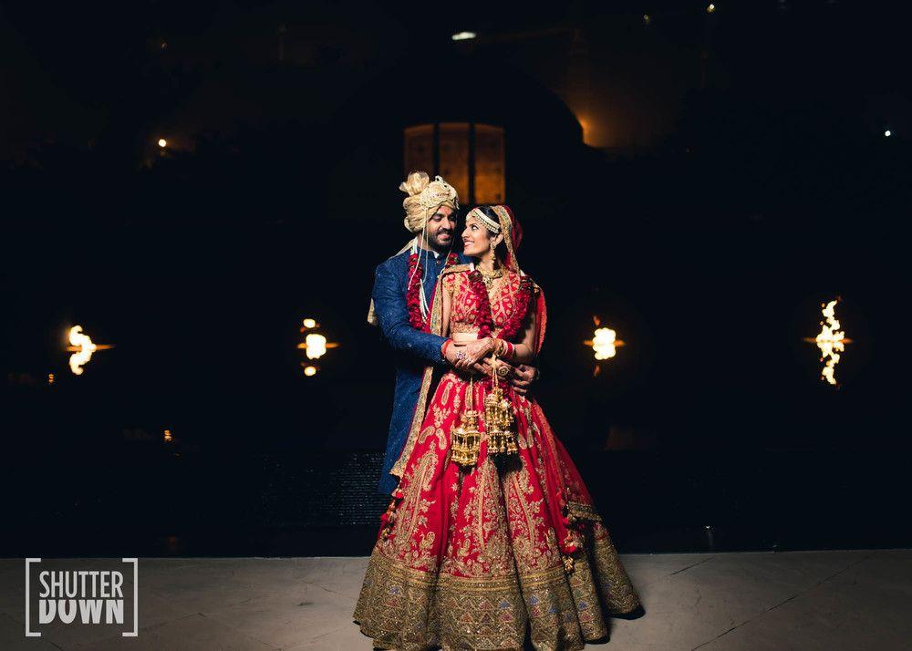 Photo of Romantic post wedding bride and groom shot