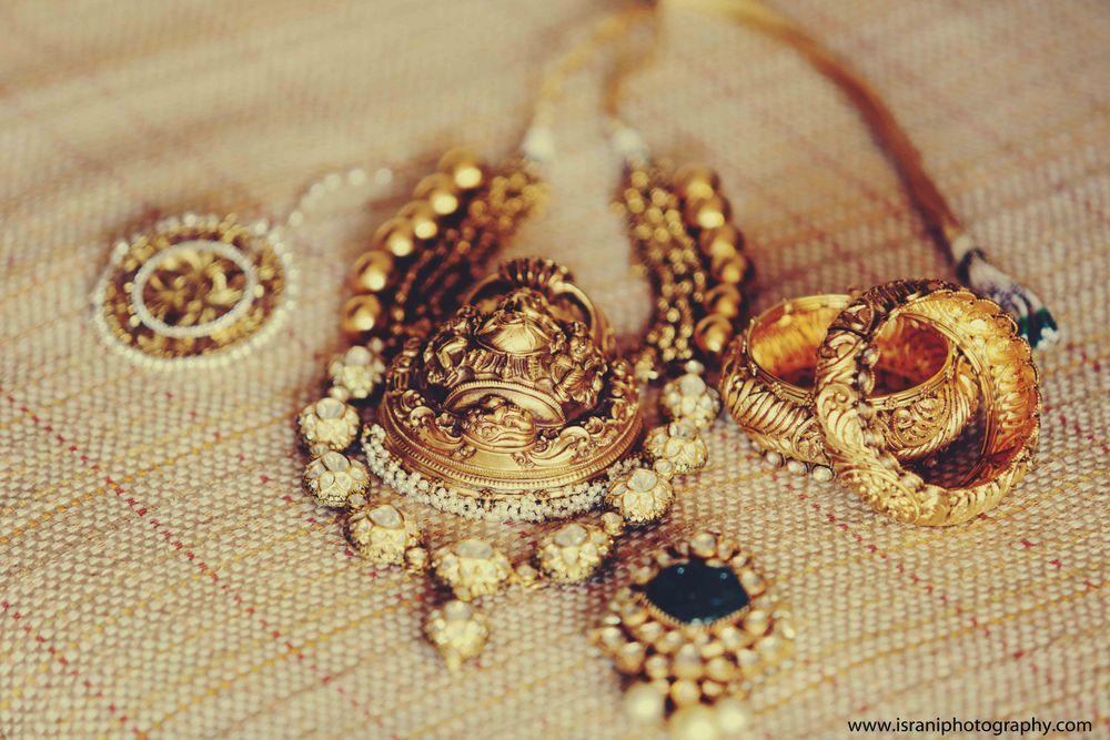 Photo of unique temple jewellery