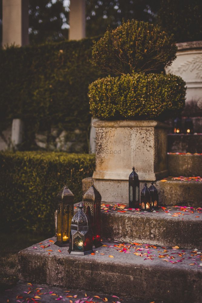 Photo of Moroccan lamps for Indian sangeet