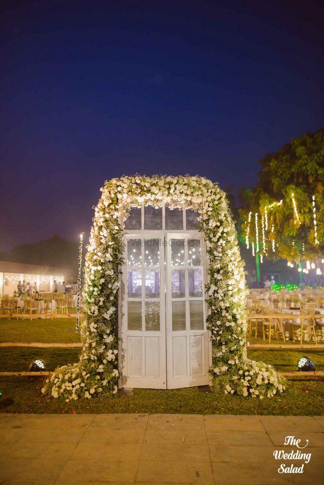 Photo of White door with decor ideas