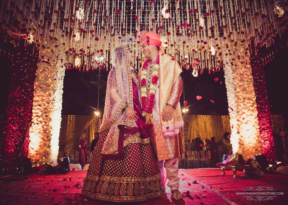 Wedding Photoshoot & Poses Photo mandap decor