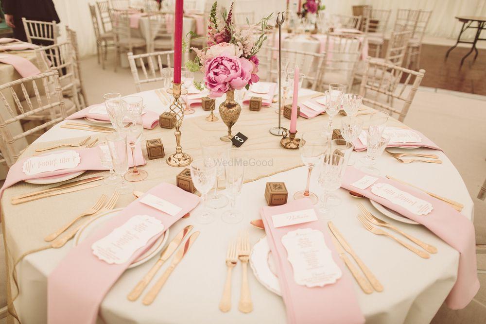 Photo of table settings